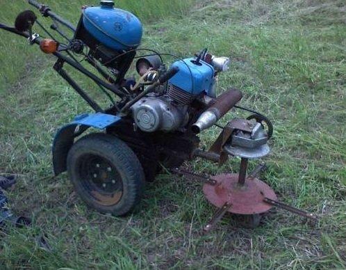 Как сделать из мотоцикла мотоблок