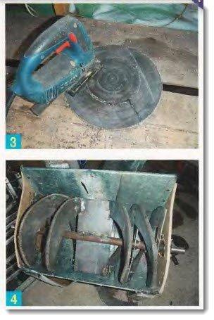 Электроснегоуборщик своими руками с двигателем от стиральной машины