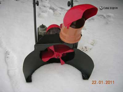 Снегоуборщик своими руками с электродвигателем