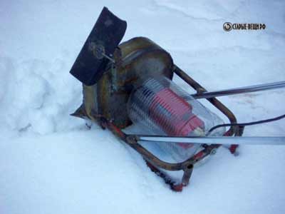 Снегоуборочная машина своими руками электро видео