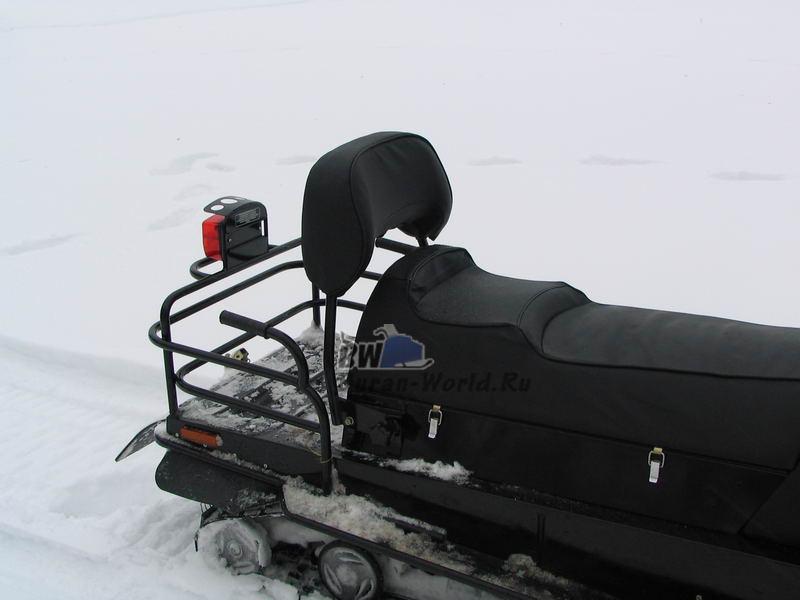 Как сделать сидение на снегоход